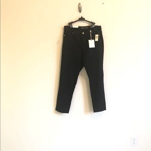 NWT Anne Klein Slimming Black Jeans Plus Size